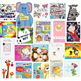 Kids Super Value Mixed Pack 20 Children's Birthday / Greeting Cards