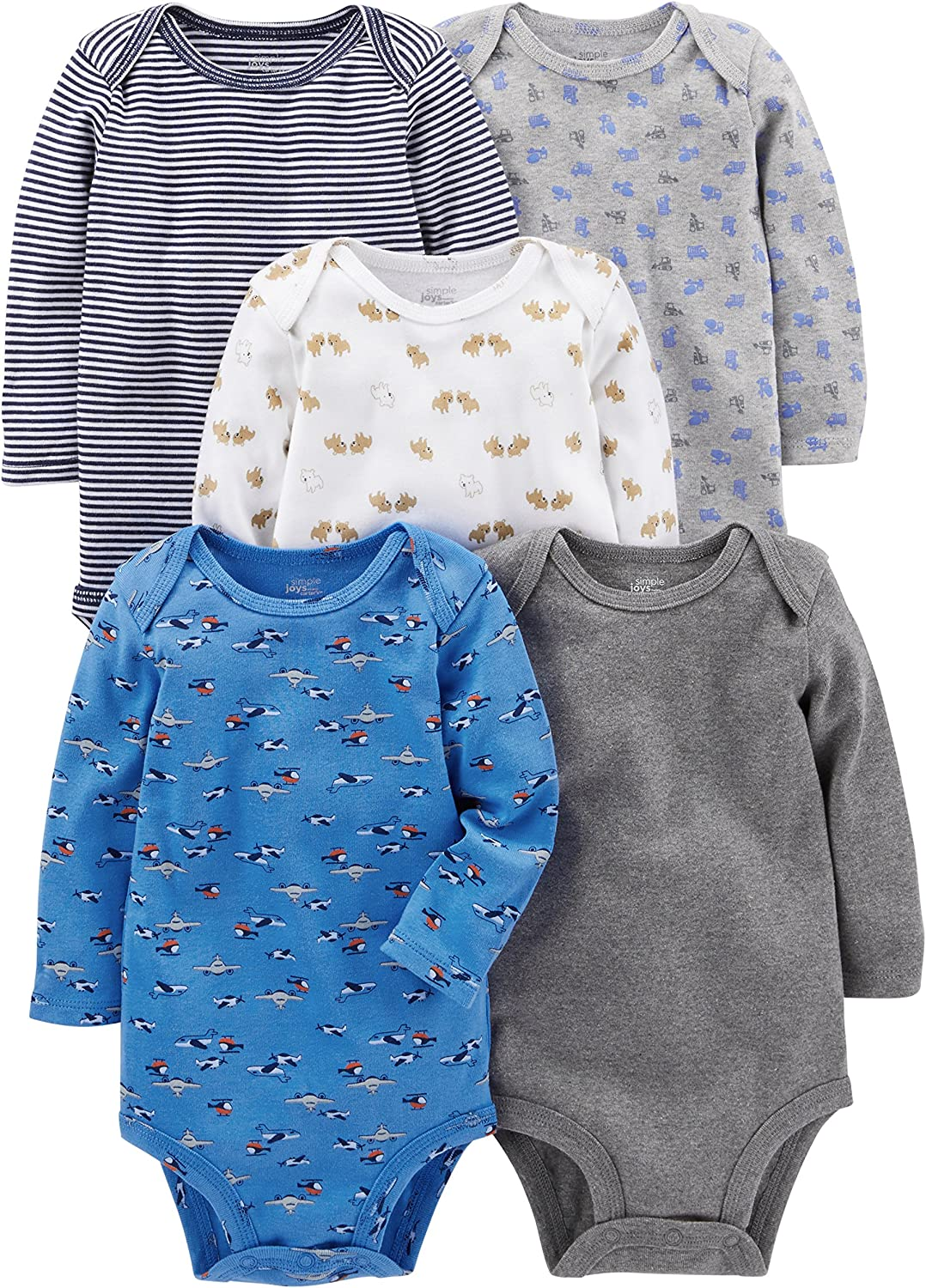 Simple Joys by Carters Baby Body manches longues gar/çon