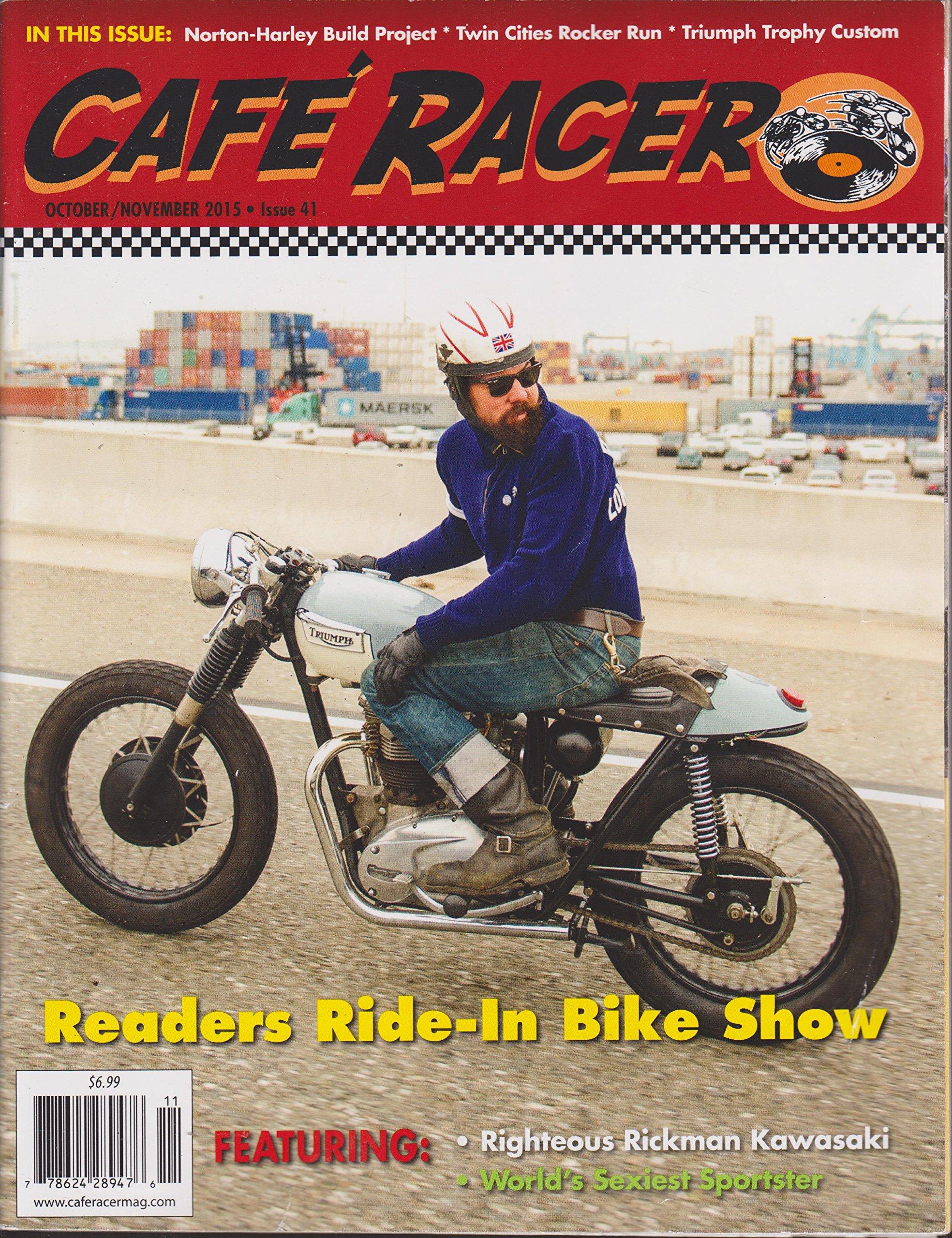 Download Cafe Racer Magazine October/November 2015 pdf epub