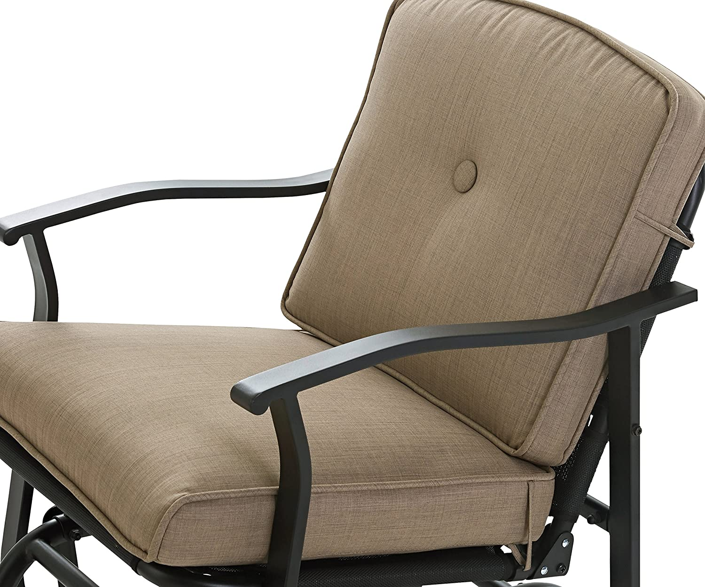 Super Mainstays Belden Park Cushioned Glider Chair Midnight Sky Pdpeps Interior Chair Design Pdpepsorg