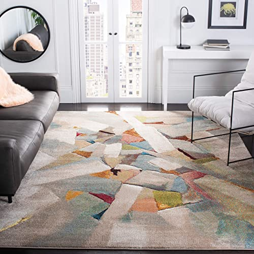 Safavieh Porcello Collection PRL6937B Modern Abstract Non-Shedding Stain Resistant Living Room Bedroom Area Rug
