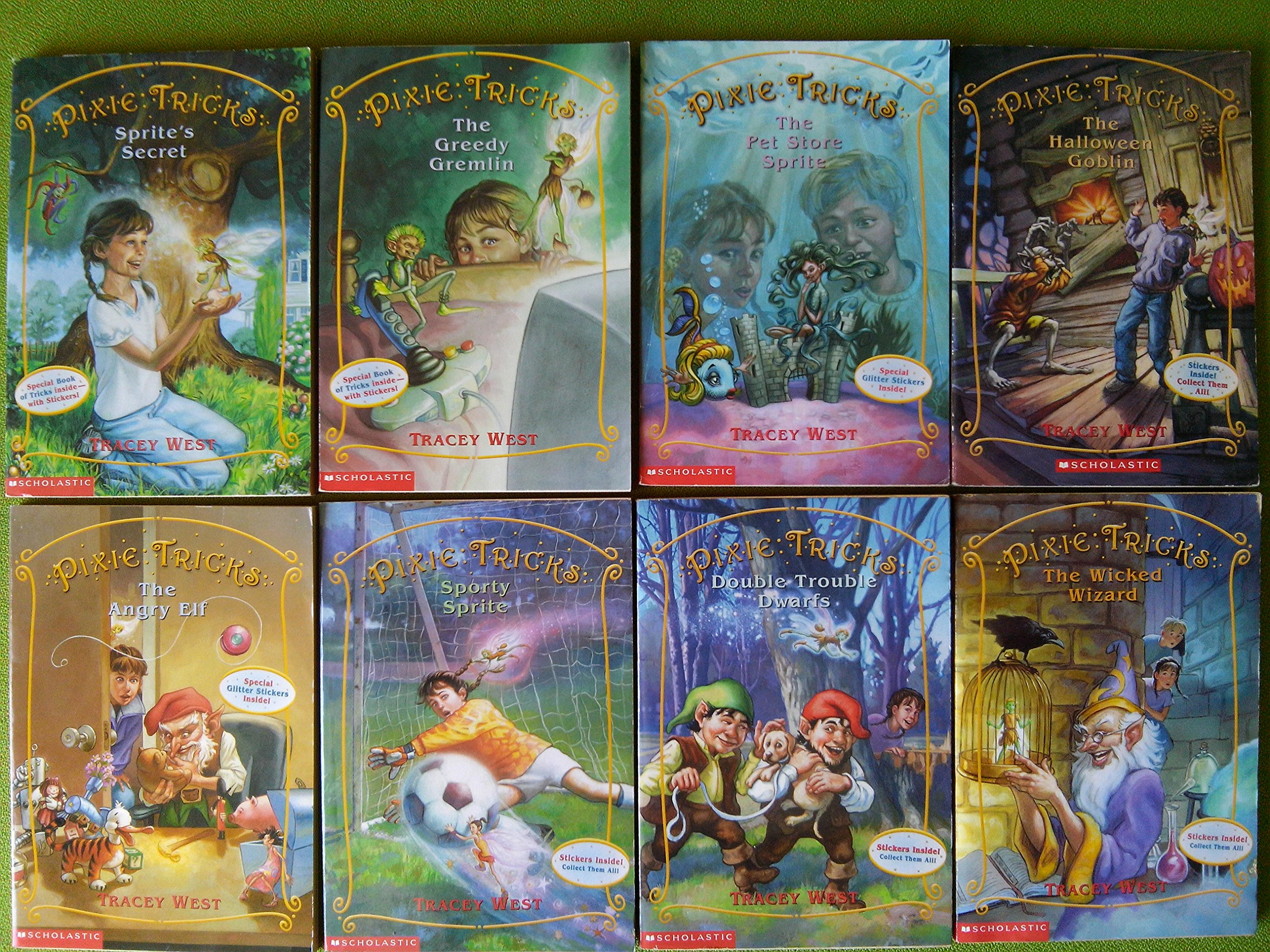 Pixie Tricks Complete Set Books product image