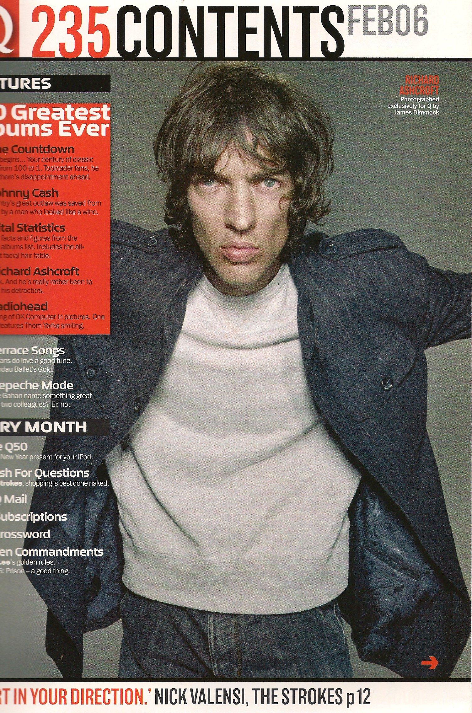 Q magazine - 235 - February 2006 - The 100 Greatest Albums Ever