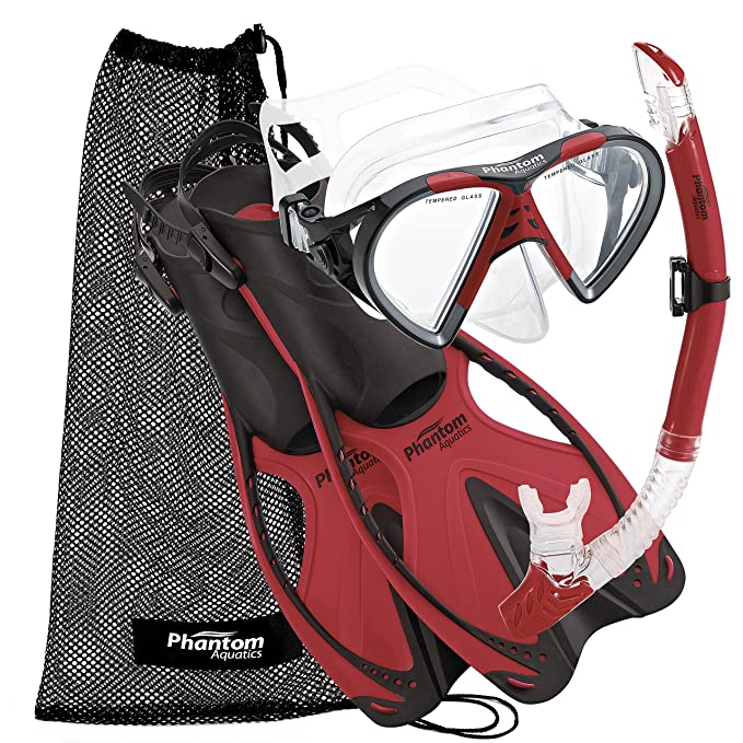 8. Phantom Aquatics Snorkel Gear Set
