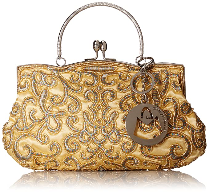 MG Collection - Cartera de mano para mujer Dorado dorado Talla única: Amazon.es: Ropa y accesorios