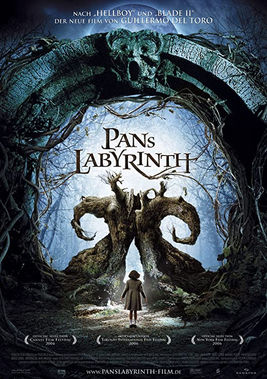 Amazon.com: Pan's Labyrinth (2006) Movie Poster 24x36 inches: Posters &  Prints