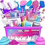 Original Stationery Unicornio Slime Kit suministros cosas para niñas haciendo limo [todo en una caja] Los niños pueden hacer