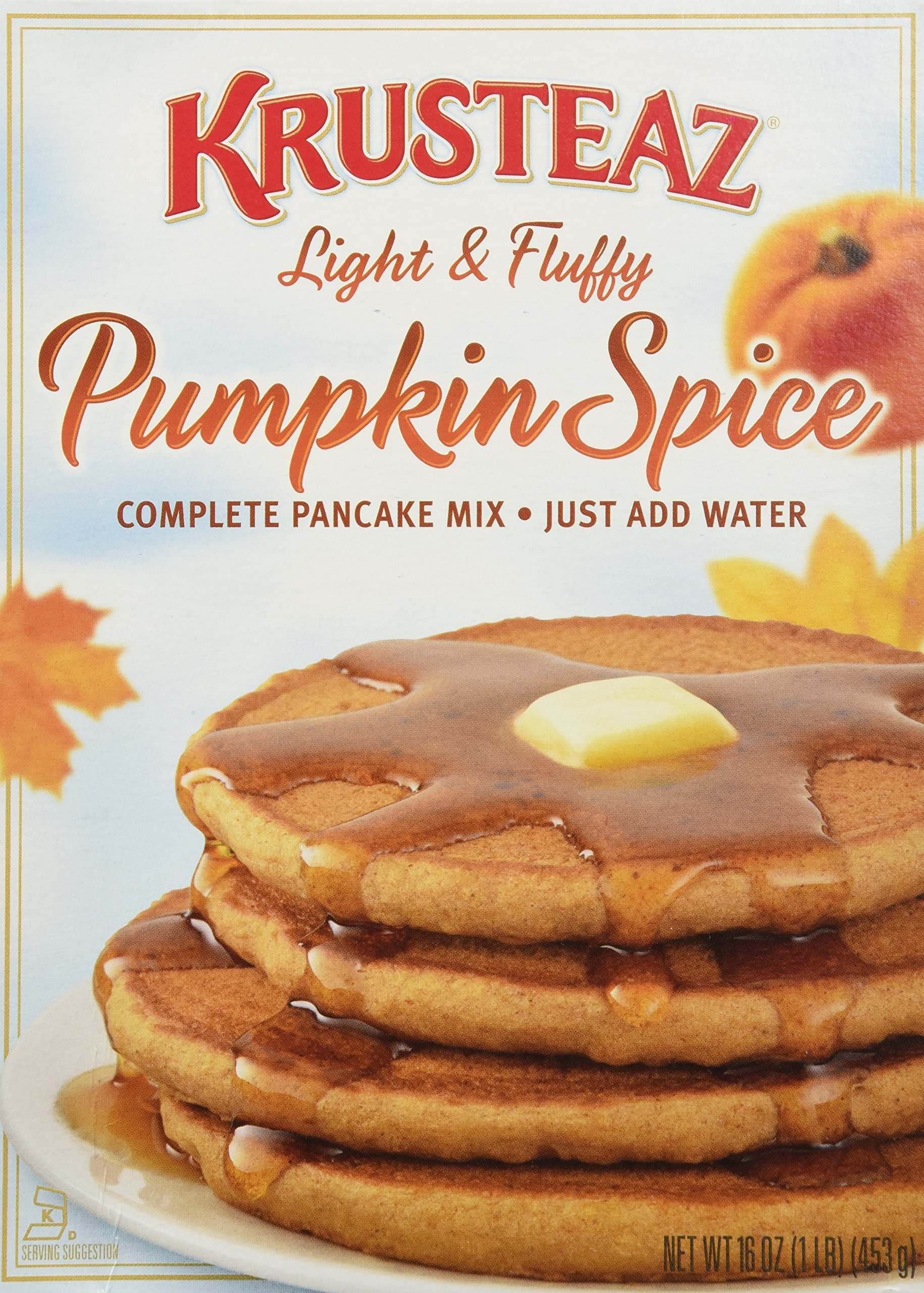 Krusteaz Pumpkin Spice Pancake Mix 16 oz(3 Pack) by Krusteaz