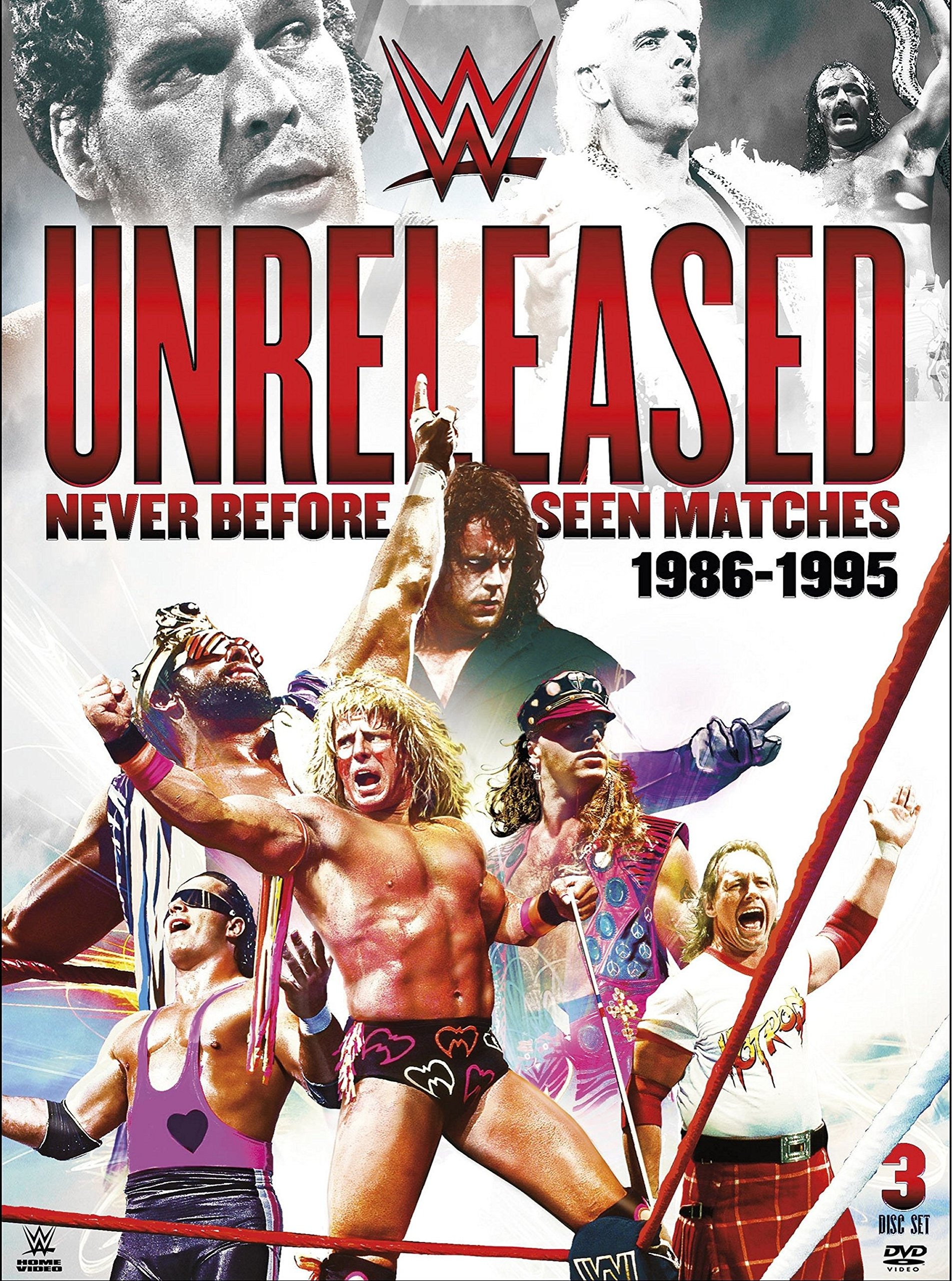WWE: Unreleased: 1986-1995 (DVD)
