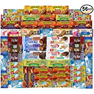 Ultimate Healthy Fitness Box - Protein & Healthy Granola Bars Sampler Snack Box (56 Count) - Care Package - Gift Pack - Variety of Fitness, Energy Bars and Premier Protein Bars.