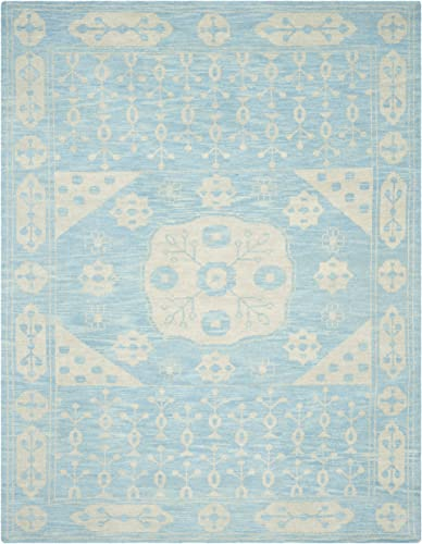 Safavieh Kenya Collection KNY683A Handmade Blue Premium Wool Area Rug 9' x 12'