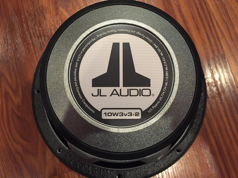 JL Audio 10W3v3-2 Single 2 ohm 10 W3v3 Subwoofer 10W3v3