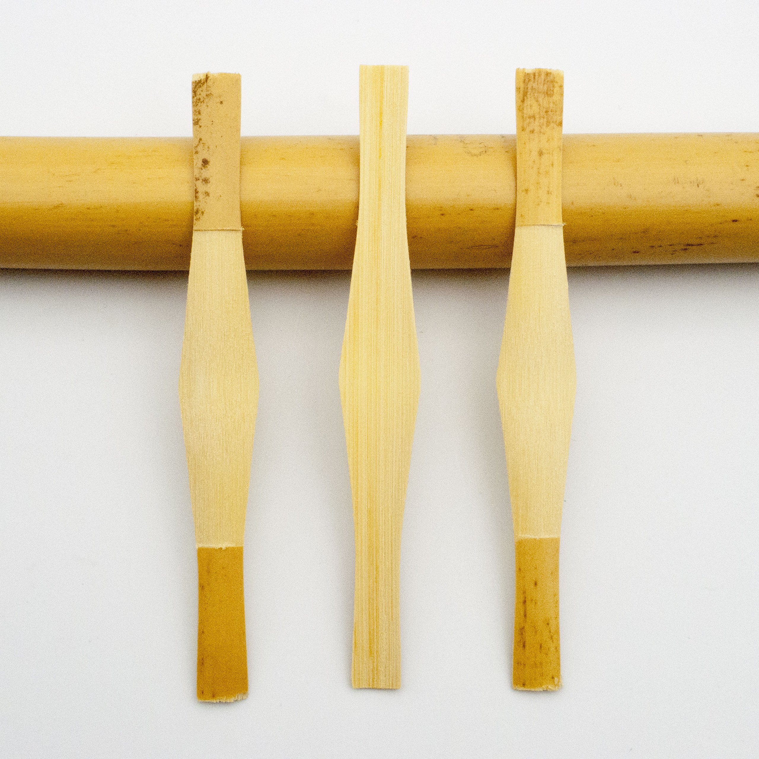 10* Reed123 Gouged Shaped & Profiled Canes