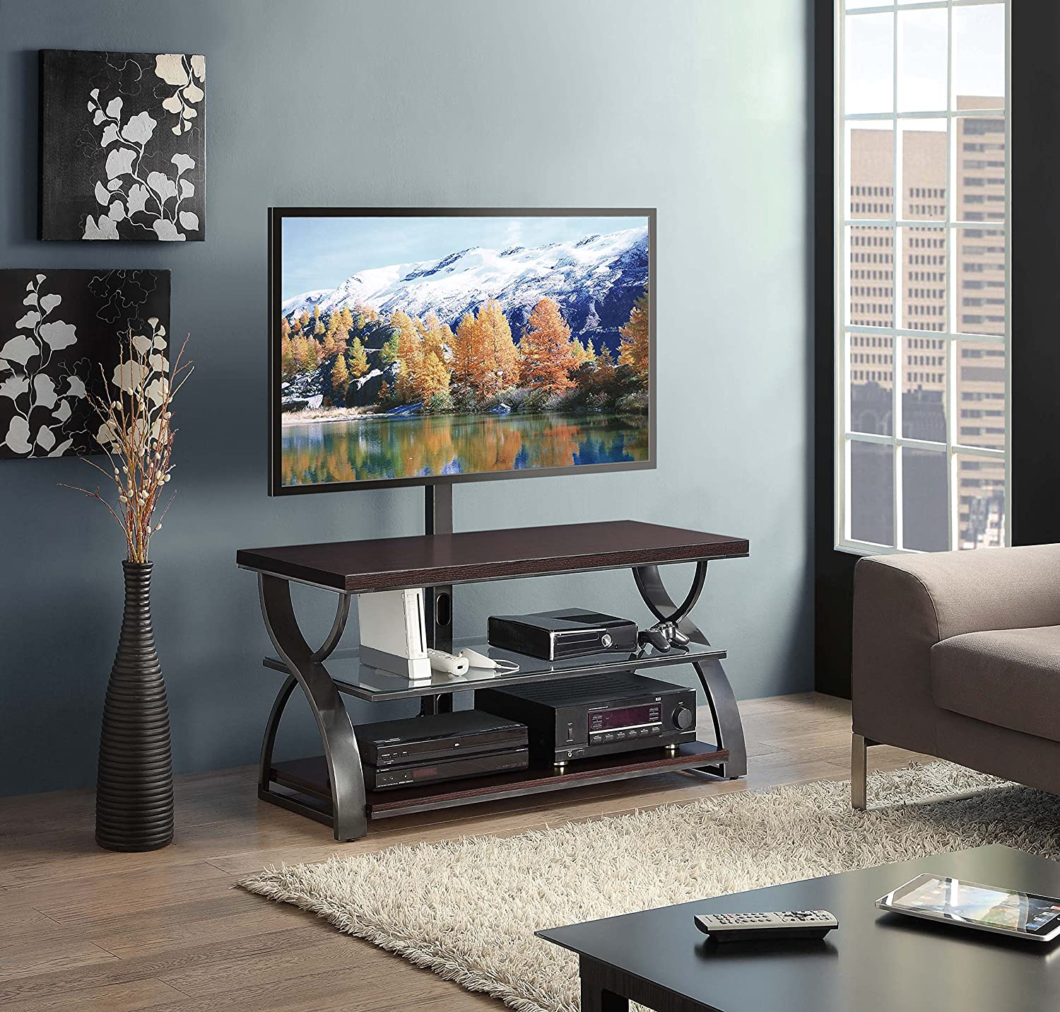 The 5 Best TV Stands In 2021: Reviews & Buying Guide 6