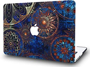 LuvCase Laptop Case for MacBook Air 13 Inch (2020/2019/2018) A2179/A1932 Retina Display (Touch ID) Rubberized Plastic Hard Shell Cover (Bohemian Pattern)