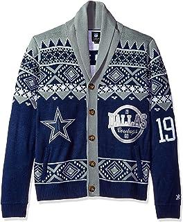 c0c2d2b9 Amazon.com : NFL Busy Block Sweater : Clothing