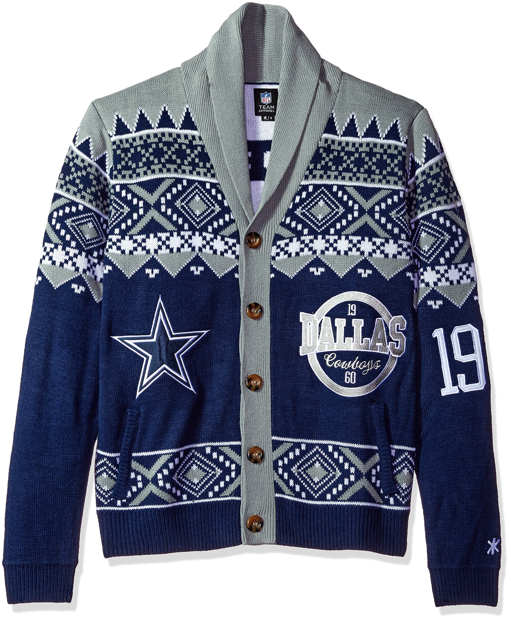 Dallas Cowboys 2015 Ugly Cardigan Extra Large