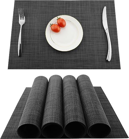 Amazon Com Kokako Placemats Washable Dining Table Place Mats Pvc