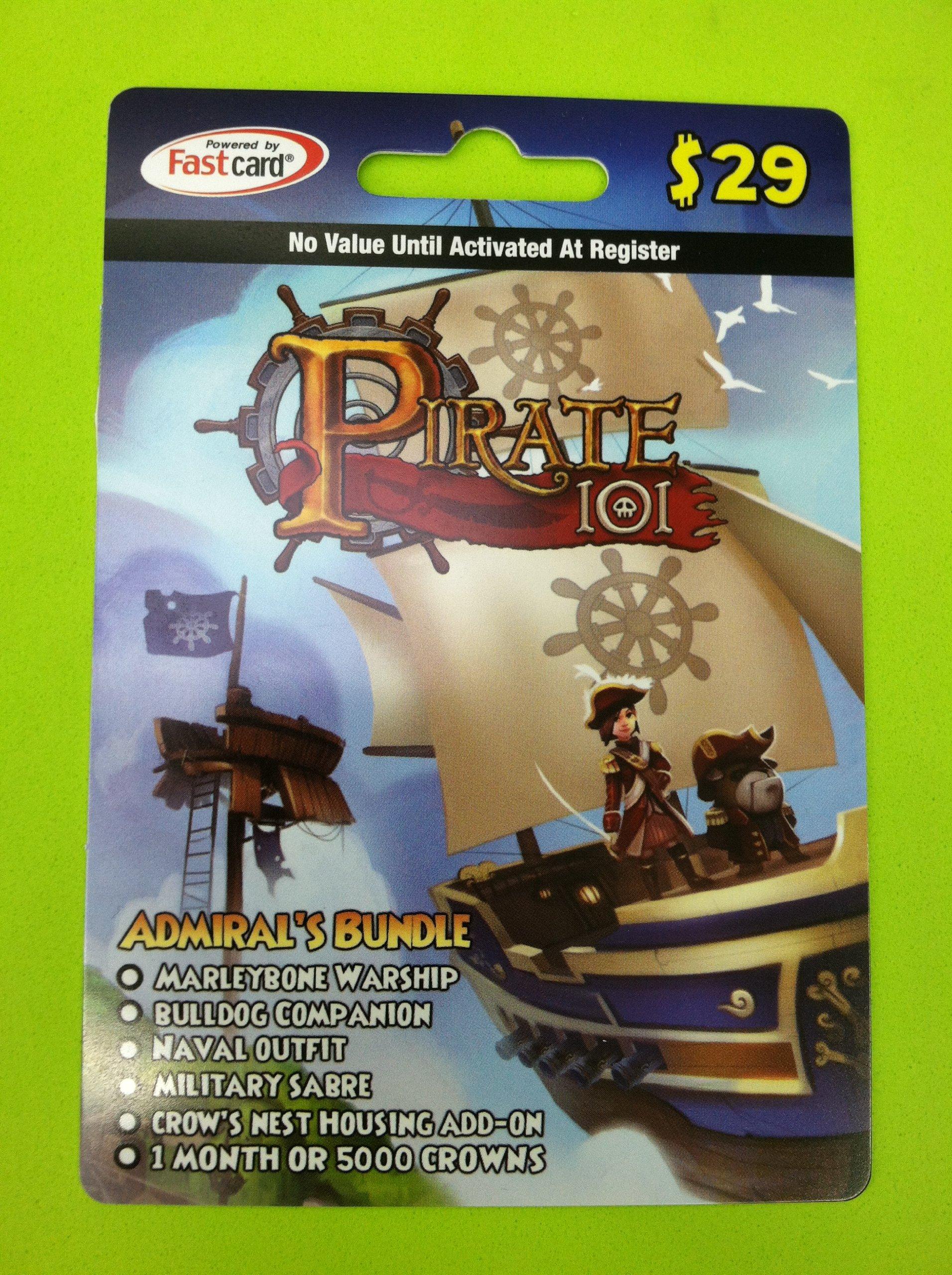 Amazon com: Pirate101 Admiral's Bundle Online Game