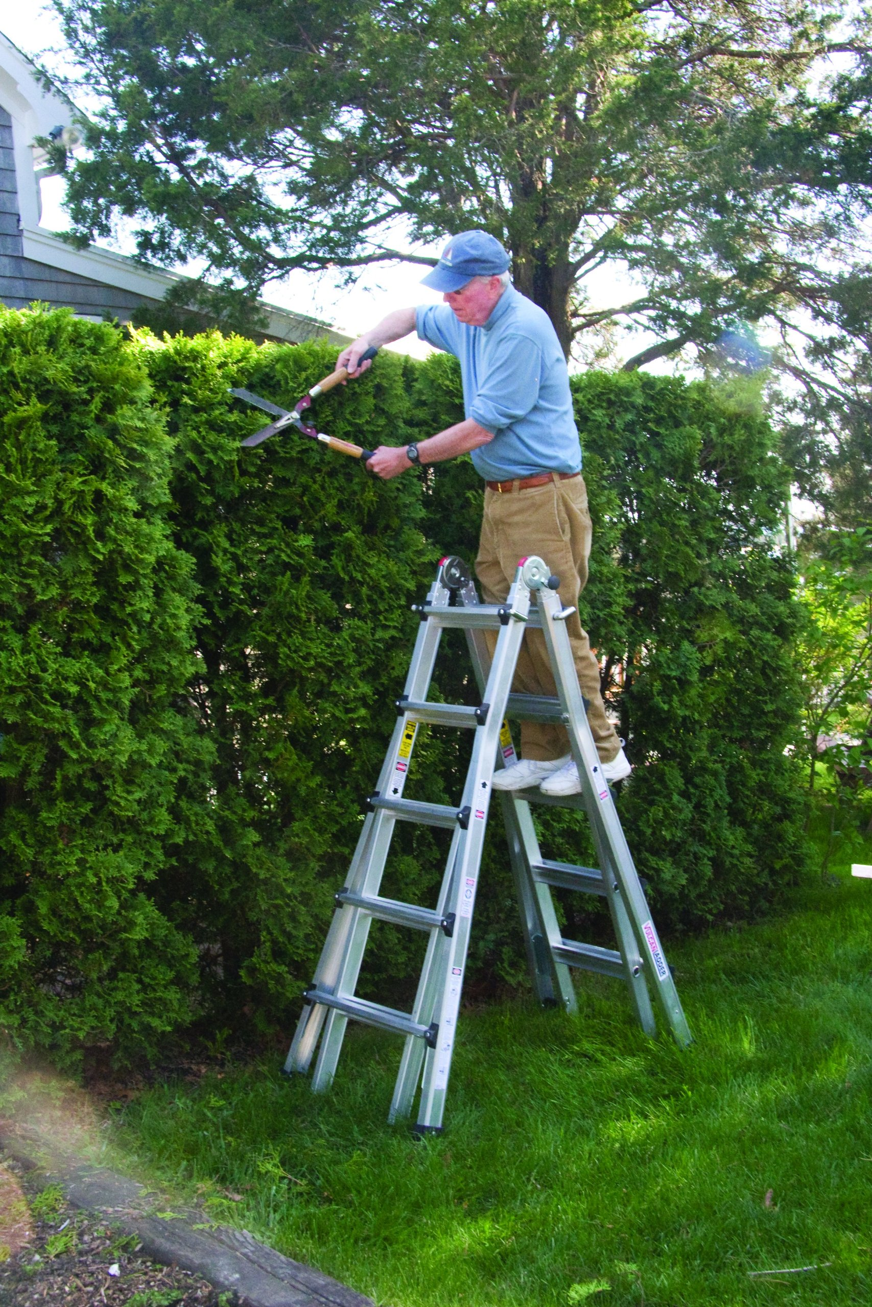 Vulcan Ladder USA 3600735401986540 Stepladder Multi-Task Alu 17Ft 17' MT by Vulcan Ladder USA (Image #5)