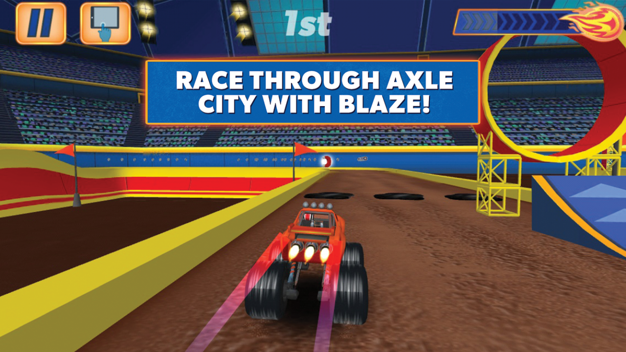 Amazon Com Blaze And The Monster Machines Fire Edition