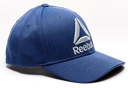 f893a9c35ee Amazon.com  Reebok Delta Logo Heathered Snapback Hat  Sports   Outdoors