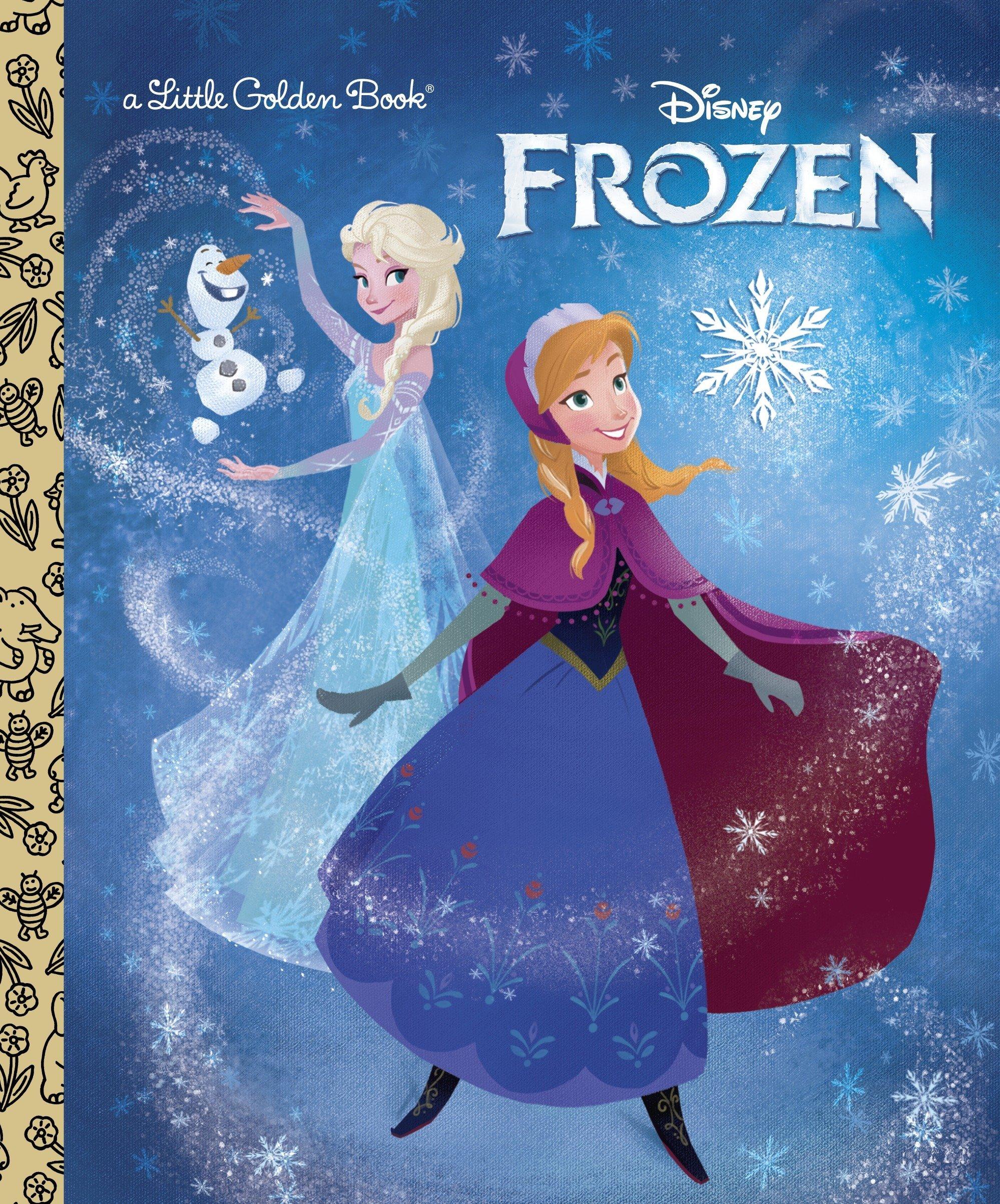 Frozen Little Golden Book (Disney Frozen) PDF