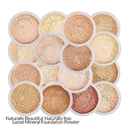 Amazon.com : Itay Mineral Cosmetics Natural Loose Mica Powder Foundation - Tan Olive Undertone (MF-5 DULCE DEL LECHE) : Beauty