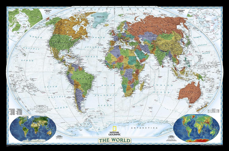 **world political decorator175 cm X 122.5 cm