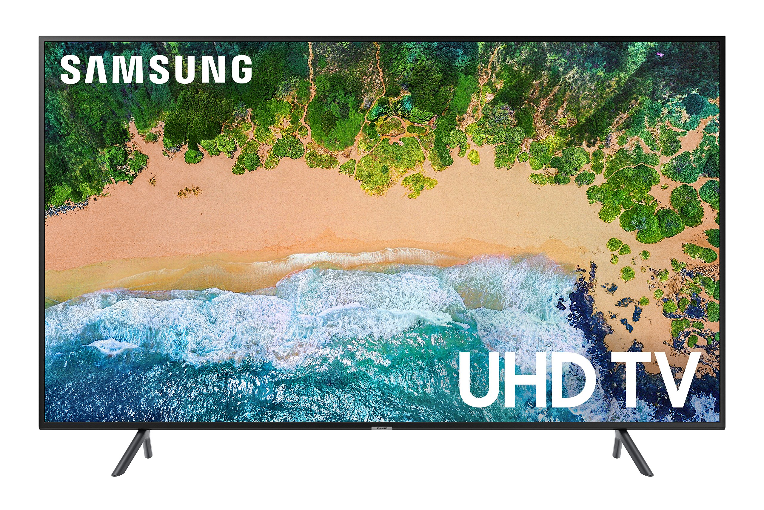 Samsung UN50NU7100 Flat 50'' 4K UHD 7 Series Smart TV 2018 by Samsung