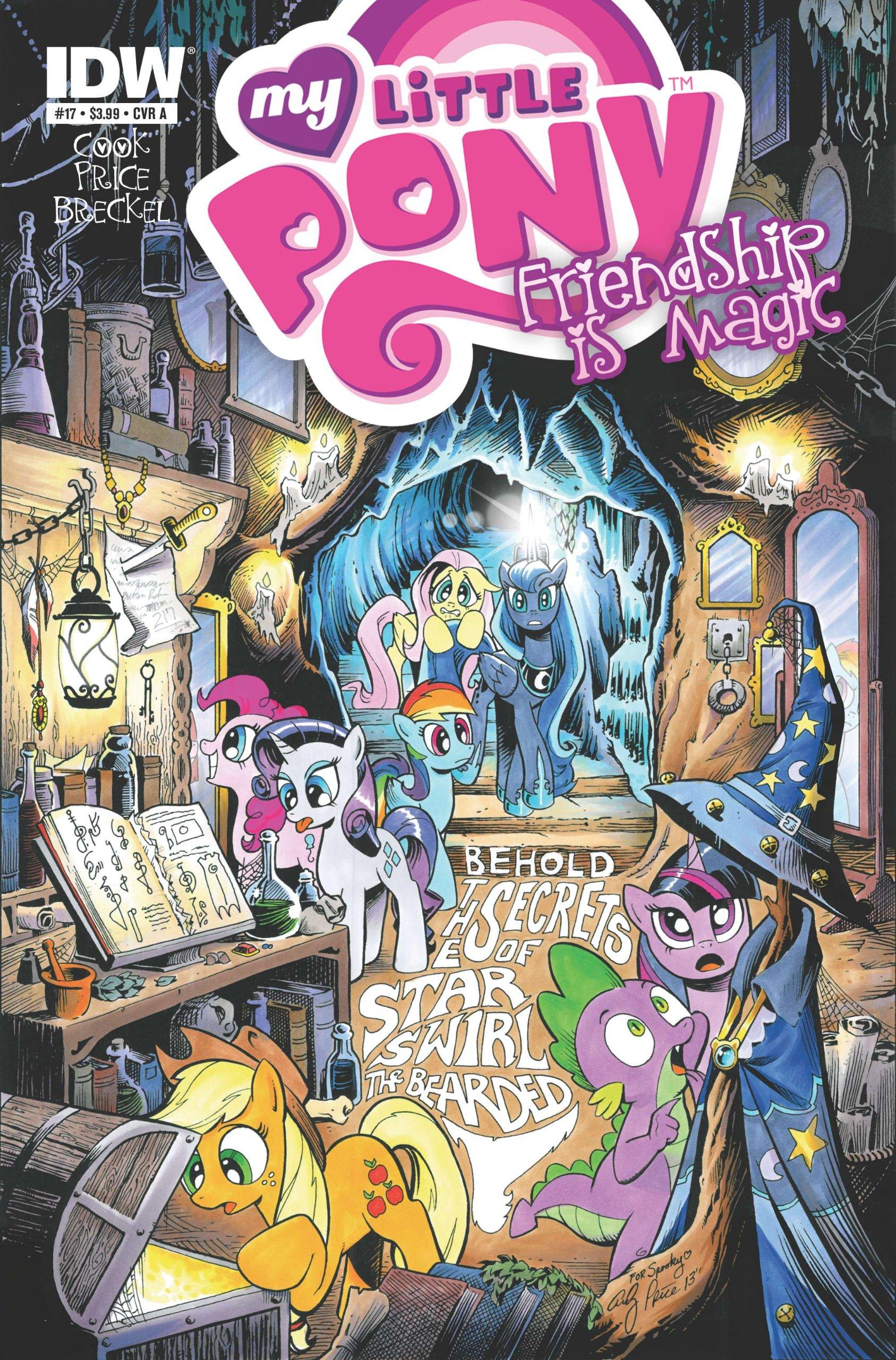 Download My Little Pony Friendship is Magic #17 (1 of 2 CVRs) 2014 *IDW Comics* ebook