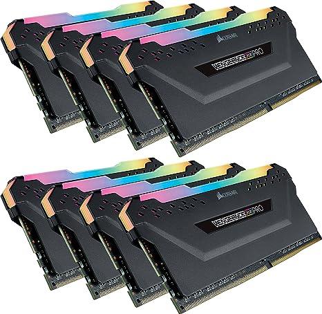 Corsair Vengeance RGB Pro Iluminaci/ón LED RGB Negro Kit de Memoria Entusiasta 16 GB 2 x 8 GB 3000 MHz DDR4 XMP 2.0 C15
