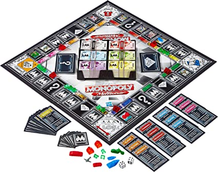 Hasbro Juegos en Familia Monopoly Millonario (versión en alemán): Amazon.es: Juguetes y juegos