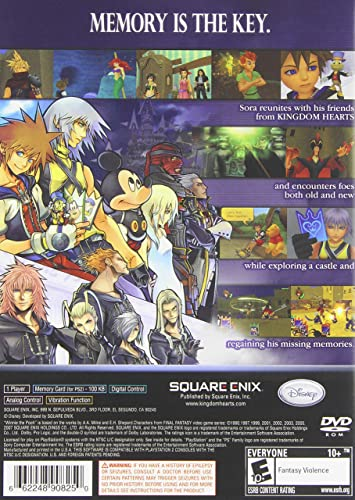 Kingdom Hearts RE: Chain of Memories: Amazon.es: Videojuegos