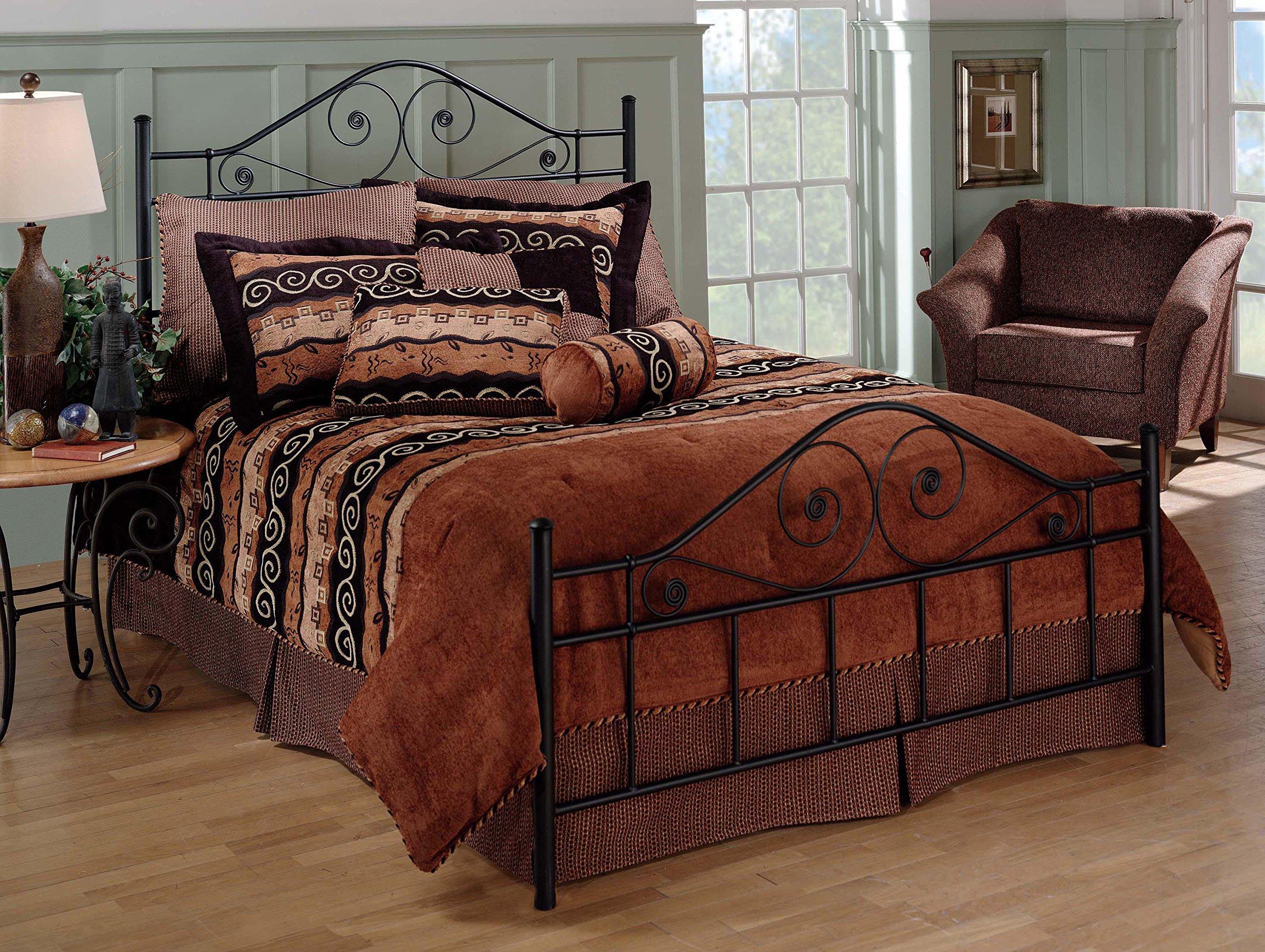 Hillsdale Furniture 1403BK Harrison Bed Set, King, Texture Black