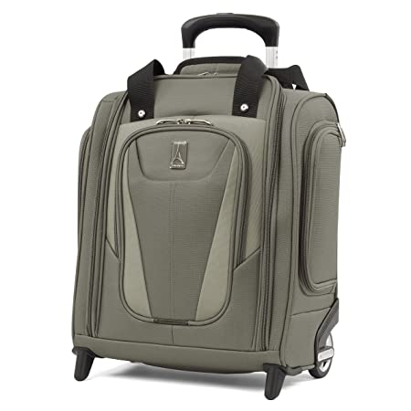 e4f491b93 Travelpro Maxlite 5 Carry-on Compact Rolling Under Seat Bag, Slate Green:  Amazon.co.uk: Luggage