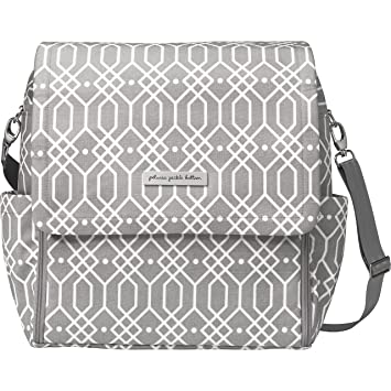 5ca2c981b3 Image Unavailable. Image not available for. Color  Petunia Pickle Bottom  Boxy Backpack Diaper Bag ...