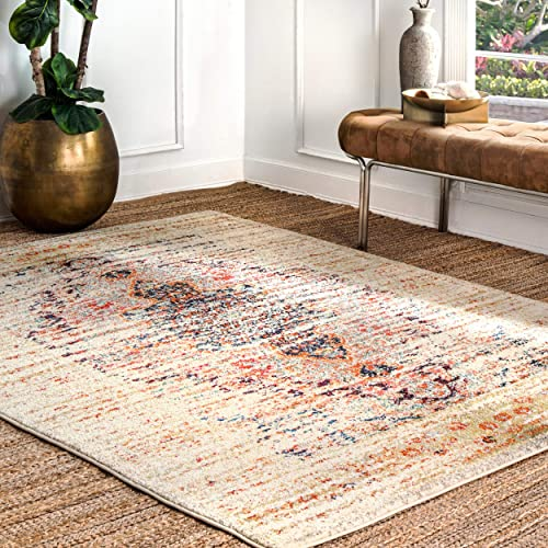 nuLOOM Sarita Distressed Persian Area Rug