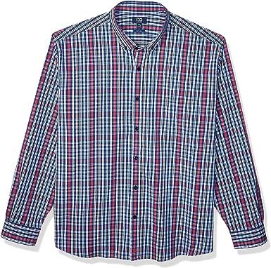 Cutter & Buck MCW00174 Camisa a Cuadros Doble con Ancla para Hombre: Amazon.es: Ropa y accesorios