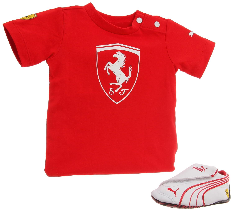 pna shirt infant scuderia clothes xl boys puma polo xs kids new auto ferrari itm