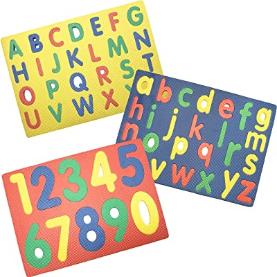 Alphabet & Numbers Foam Puzzle by DDI by GOV: Toys & Games