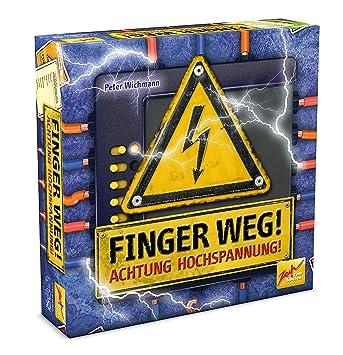 Zoch 601105023 Finger WEG - Juego de Mesa (a Partir de 12 años, de 3 a 8 Jugadores, Contenido en alemán, inglés, francés e Italiano): Amazon.es: Juguetes y juegos