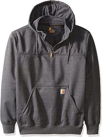 Carhartt Herren Sweatshirt Zip Hooded Paxton Strickjacke gefüttert S M L XL XXL