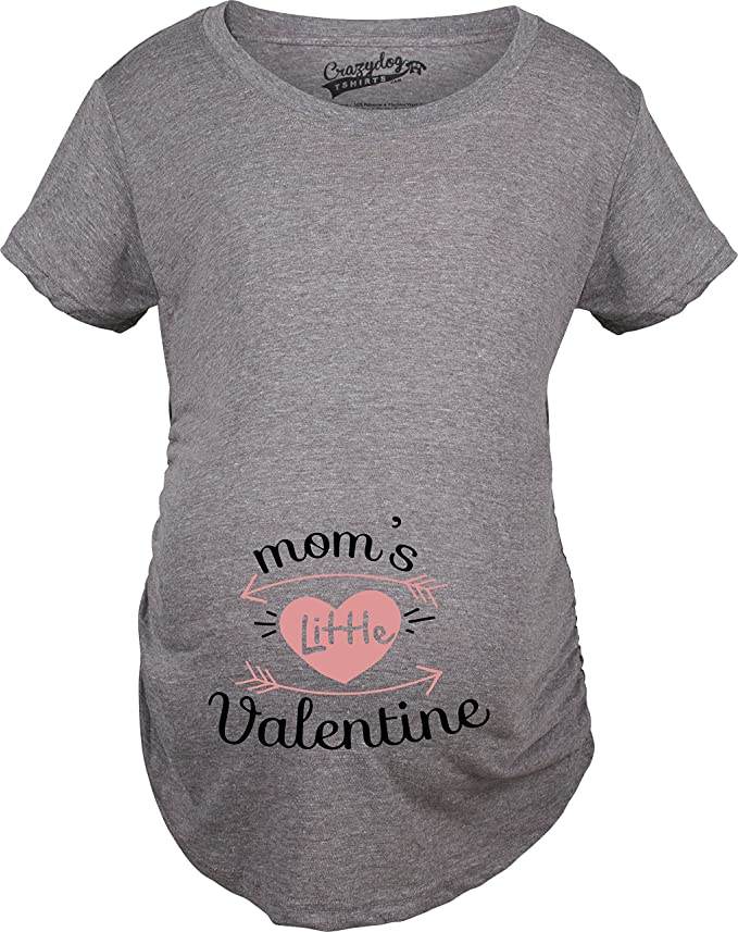 Maternity Moms Little Valentine Cute Funny Valentine's Day ...