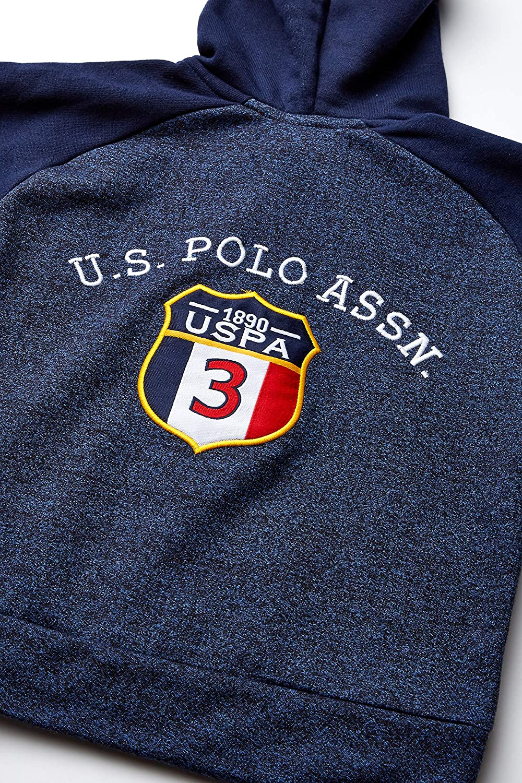 Polo Assn Boys Hooded Zip or Snap Fleece Jacket U.S