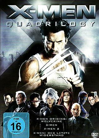 X Men Quadrilogy 4 DVDs