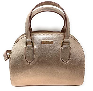 35ded6f32213 Amazon.com  Kate Spade New York Mini Reiley Laurel Way Satchel Crossbody  Bag in Rose Gold  Shoes