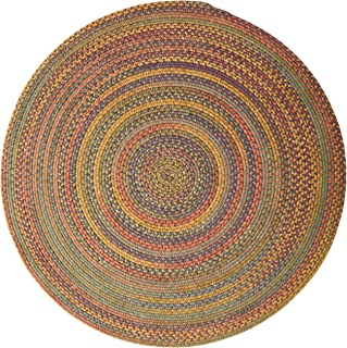 product image for Rustica Round Braided Rug, 6', Floral Burst