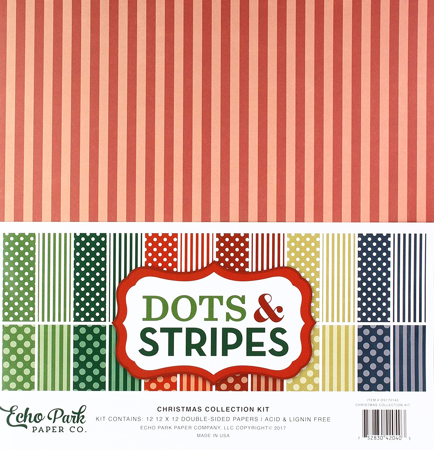 Echo Park Paper Company Christmas Collection Kit