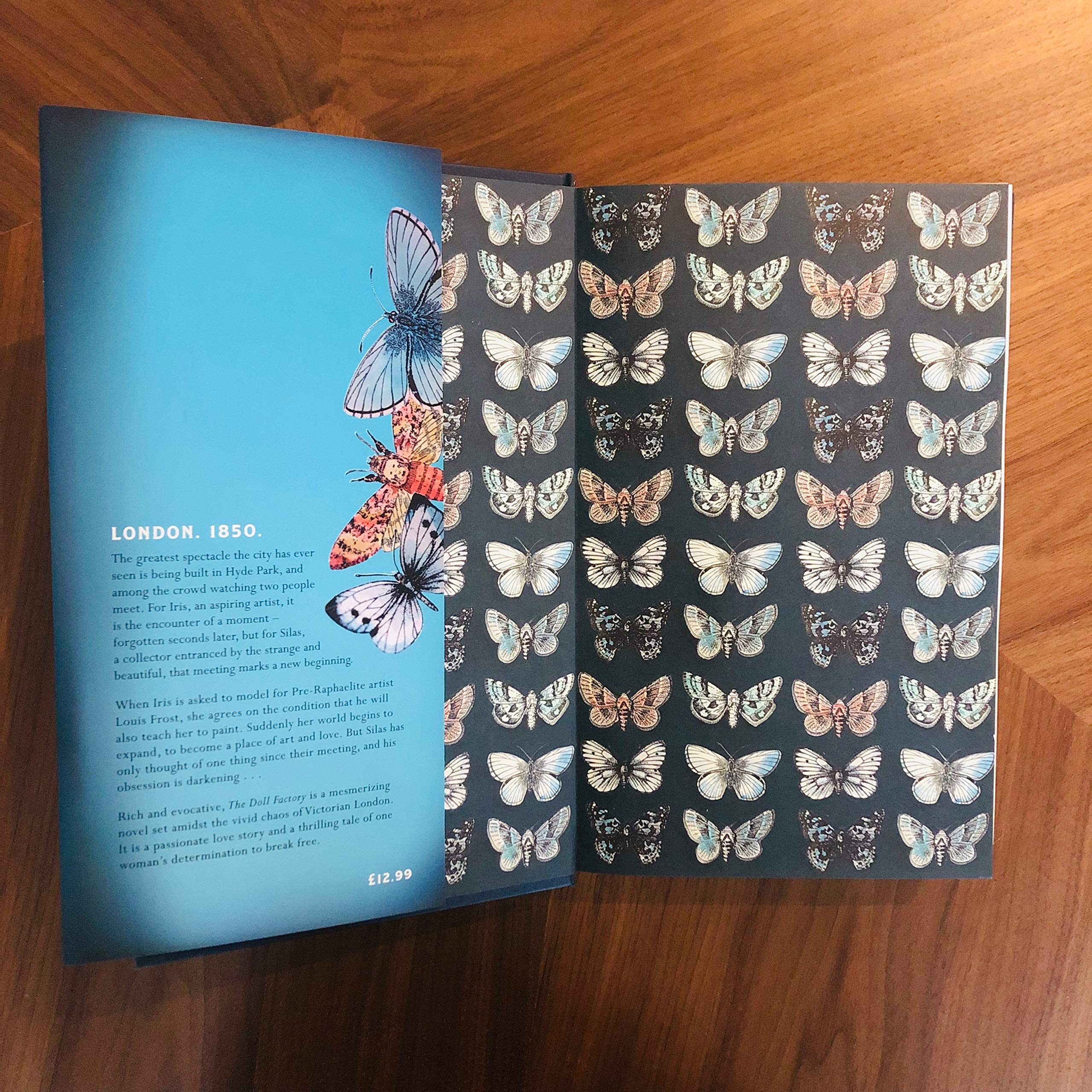 The Doll Factory: Amazon co uk: Elizabeth Macneal: 9781529002393: Books
